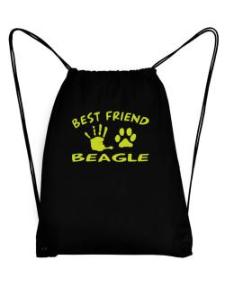 My Best Friend Is My Beagle Sport Bag