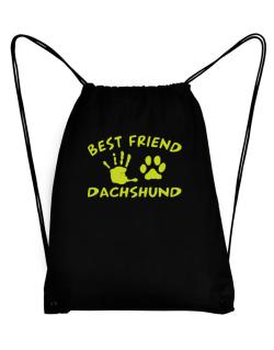 My Best Friend Is My Dachshund Sport Bag