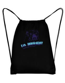 I'm Innocent American Bulldog Sport Bag
