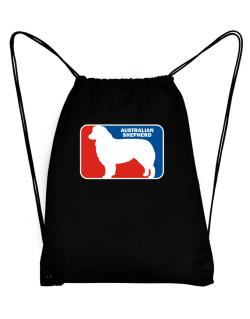 Australian Shepherd Sports Logo Sport Bag
