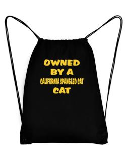 Owned By S California Spangled Cat Sport Bag