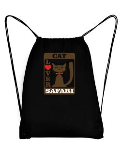 Cat Lover - Safari Sport Bag