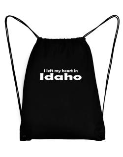 I Left My Heart In Idaho Sport Bag