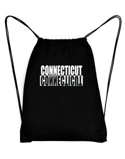 Connecticut Negative Sport Bag