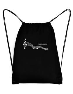 Freestyle Music - Notes Sport Bag