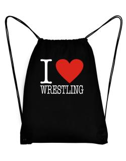 I Love Wrestling Classic Sport Bag