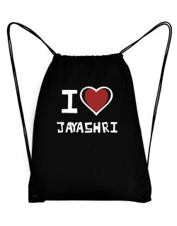 I Love Jayashri Sport Bag