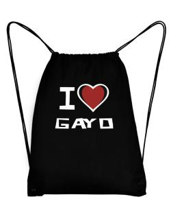 I Love Gayo Sport Bag