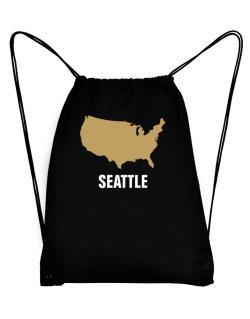Seattle - Usa Map Sport Bag