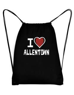 I Love Allentown Sport Bag
