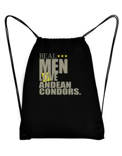 Real Men Love Andean Condors Sport Bag