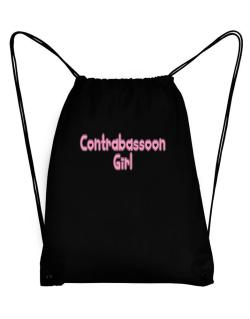 Contrabassoon Girl Sport Bag