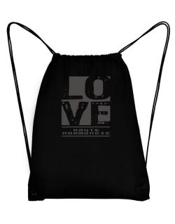 Love Haute-Normandie Sport Bag
