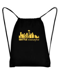 Seattle, Washington skyline Sport Bag