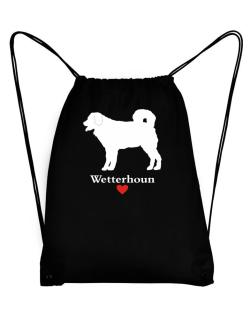 Wetterhoun love Sport Bag