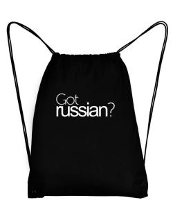Got Russian? Sport Bag