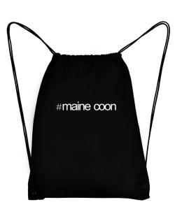 Hashtag Maine Coon Sport Bag