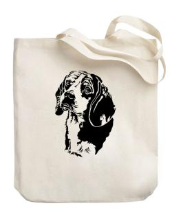 Beagle Face Special Graphic Canvas Tote Bag
