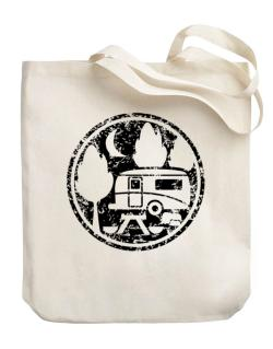 Travel trailer camping Canvas Tote Bag