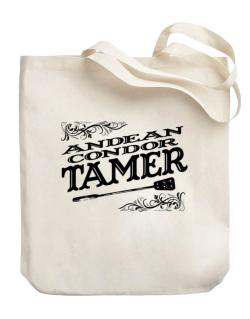 Andean Condor tamer Canvas Tote Bag