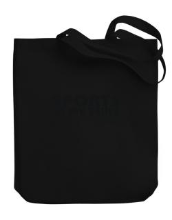 Sports In My Veins Canvas Tote Bag