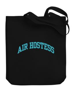 Air Hostess Canvas Tote Bag
