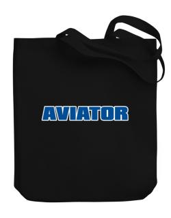 Aviator Canvas Tote Bag
