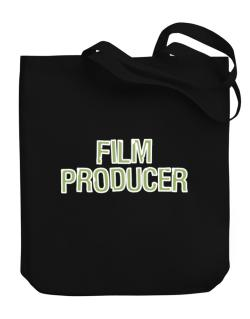 Film Producer Canvas Tote Bag