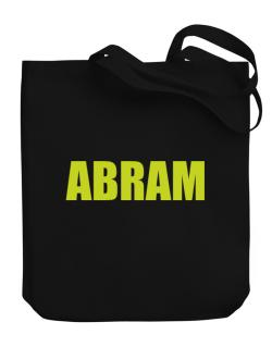 Abram Canvas Tote Bag