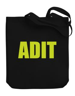 Adit Canvas Tote Bag