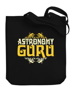 Astronomy Guru Canvas Tote Bag