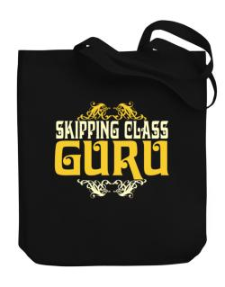 Skipping Class Guru Canvas Tote Bag