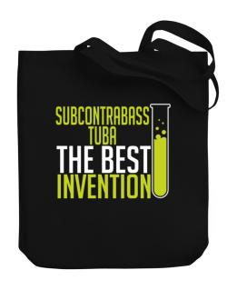 Subcontrabass Tuba The Best Invention Canvas Tote Bag