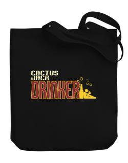 Cactus Jack Drinker Canvas Tote Bag