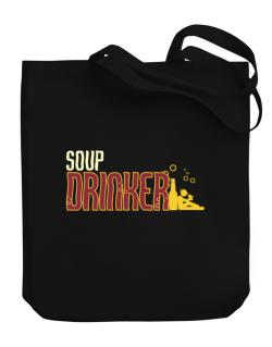Soup Drinker Canvas Tote Bag