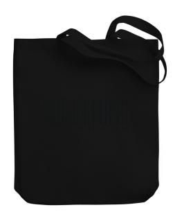Aquarius Barcode / Bar Code Canvas Tote Bag