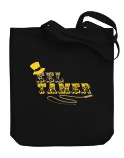 Eel Tamer Canvas Tote Bag