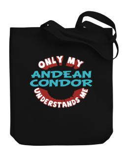 Only My Andean Condor Understands Me Canvas Tote Bag