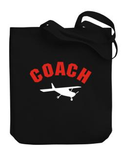""" Aerobatics COACH "" Canvas Tote Bag"