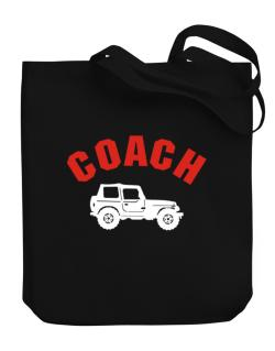 """"""" Off-Roading COACH """" Canvas Tote Bag"""