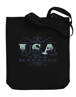 Usa Case Manager Canvas Tote Bag