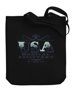 Usa Medical Assistant Canvas Tote Bag