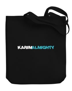 Karim Almighty Canvas Tote Bag