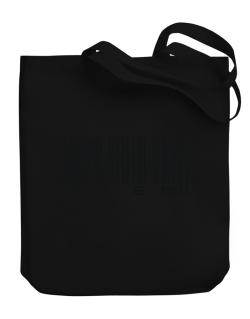 Bar Code Clem Canvas Tote Bag