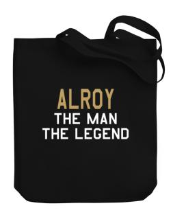 Alroy The Man The Legend Canvas Tote Bag
