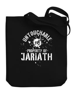 Untouchable : Property Of Jariath Canvas Tote Bag