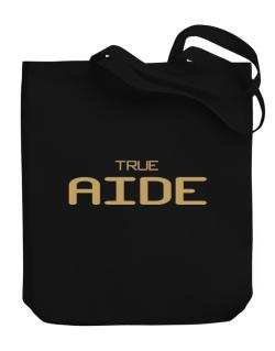 True Aide Canvas Tote Bag