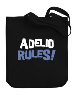 Adelio Rules! Canvas Tote Bag