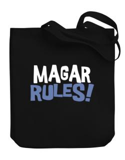 Magar Rules! Canvas Tote Bag