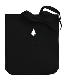 Being Ronald Is Easy Canvas Tote Bag